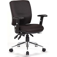 Sonix Support Chiro S3 Chair Asynchronous Onyx Black