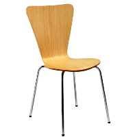Picasso Wooden Cafe Chair Beech