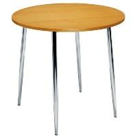 Elipse 4 Leg Circular Cafe Table Beech