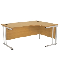 FR FIRST RADIAL RIGHT HAND CANT DESK 1800 OAK
