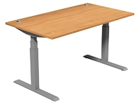 Leap Electric Height Adj Desk 1400 x 800