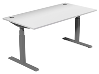 Leap Electric Height Adj Desk 1600 x 800
