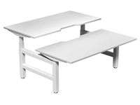 Leap Electric Height Adj Bench Desk 1200 to 1800 x 800