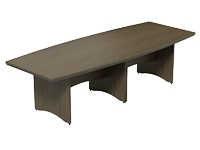 Opus 2 Part Table 2800 x 1100mm, Chestnut