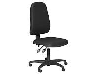 OA Series High Back Chair, Black Vinyl, No Arms