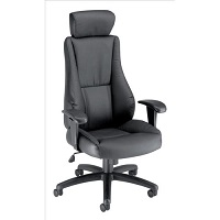 Trexus Hampshire Leather Plus Managers Armchair Headrest