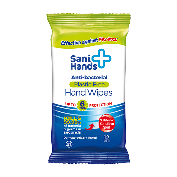 SANI+ ANTI-BACTERIAL SURFACE WIPE
