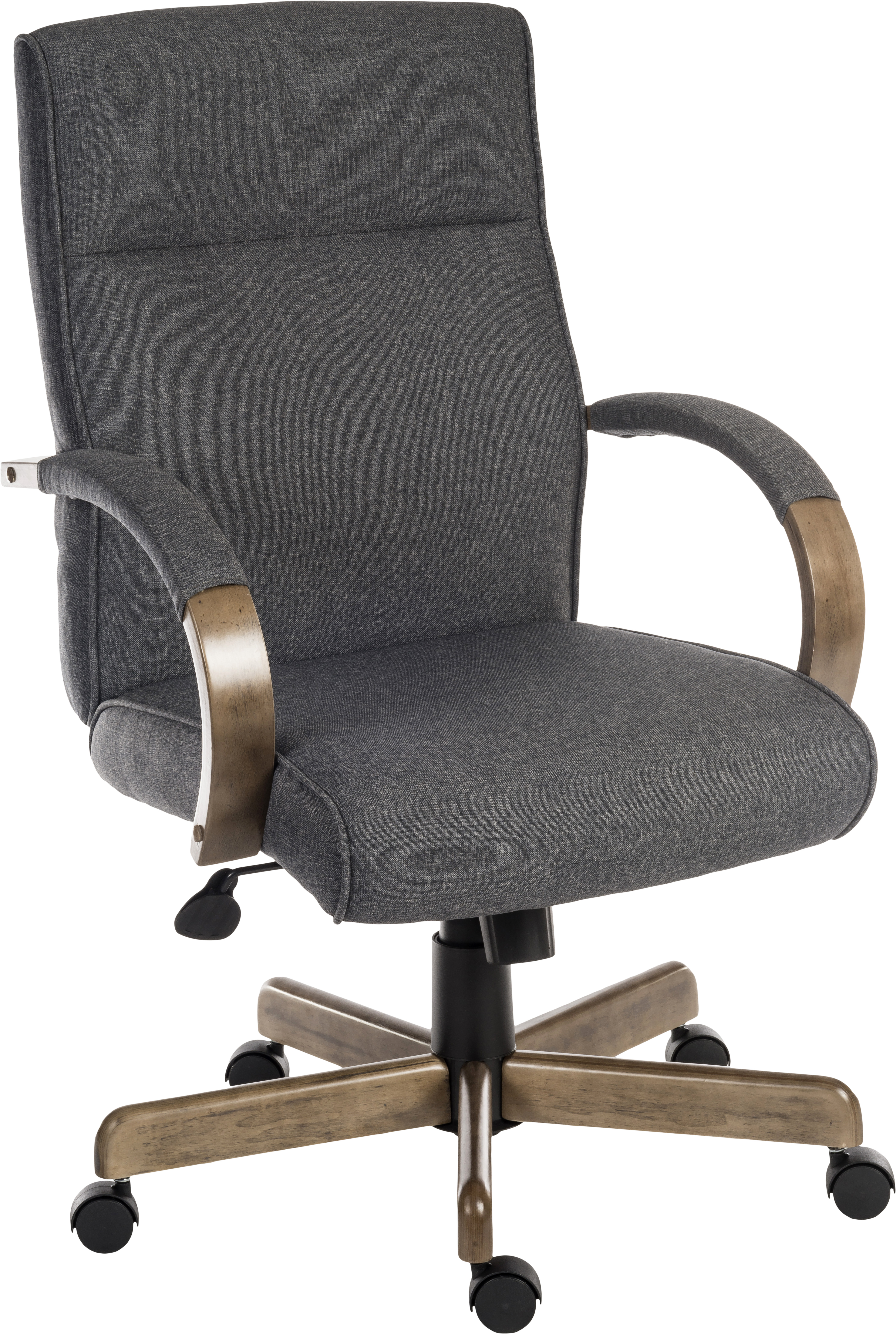 Home Craft D/écor HCD-toni10-WH Antonio High Back Office Chair in White
