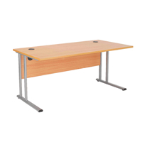 FR FIRST RECT CANT DESK 1600 BEECH