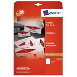 AVERY PRINT TENT CARD & LABELKIT OCT3/15