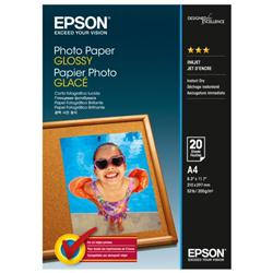 EPSON PPAPERGLOSSA4PK20 C13S042538