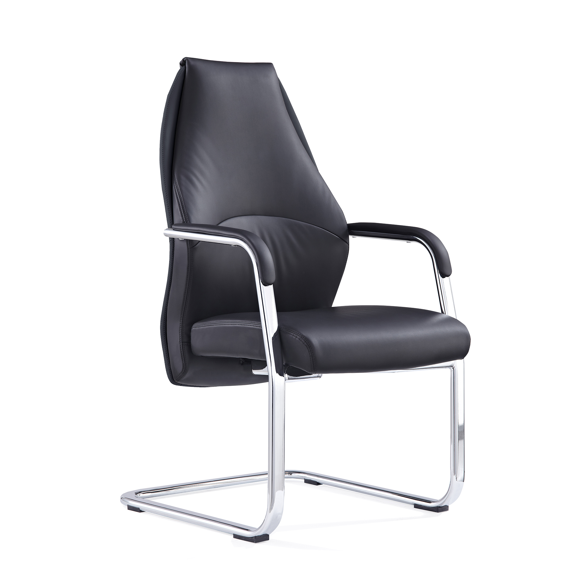 #ADROIT MIEN BLK CANT CHAIR