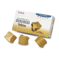 XEROX YELL INKJET CART 108R00671 PK3
