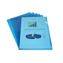 ELBA CUT FLUSH FOLD BLUE PK100 100206547