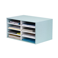 BANKERS BOX DESKTOP SORTER GREEN/WHITE