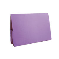 GUILDHALL MAUVE DBLE POCKET WALLET PK25