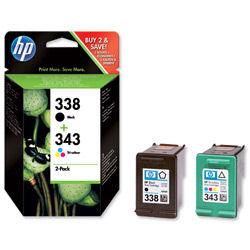 HP INKJET CART NO.338/343 VALPK SD449EE